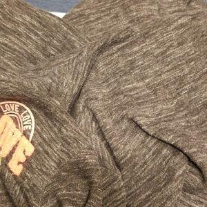 Reflex Girls Shirts & Tops - Girls Reflex Girls full zip sweatshirt Love Gray